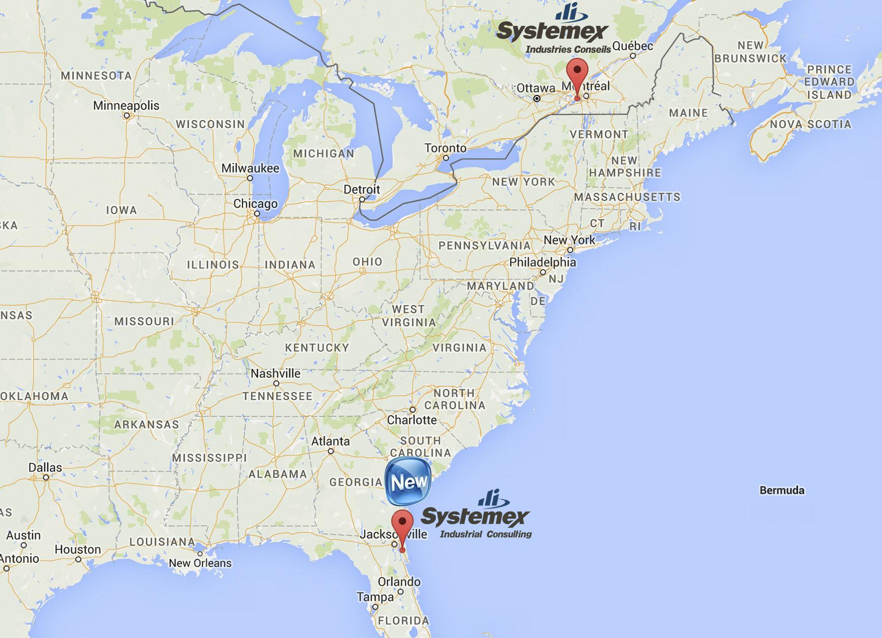 Systemex Industries croît avec l'ouverture de Systemex Industrial Consulting aux États-Unis